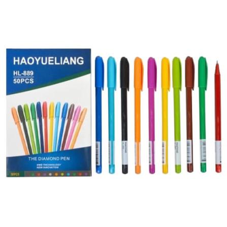 Ручка шариковая синяя HL-889