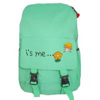 Рюкзак школьный для девочек i's me... цв. хаки  ГХ