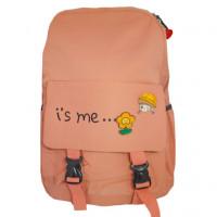 Рюкзак школьный для девочек i's me... цв.персиковый  ГХ