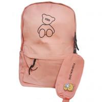 Рюкзак школьный для девочек Fashion Bag цв.персиковый  ГХ