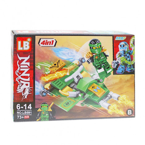 Конструктор Ninja 591