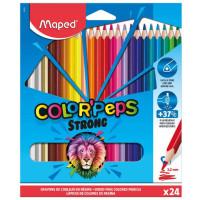 """Карандаши """"Maped Strong""""  (24 цв)"""