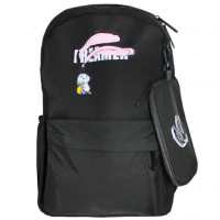 Рюкзак школьный Breamer черный