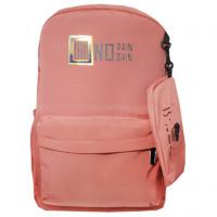 Рюкзак школьный NO Pain No Gain темно-розовый