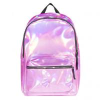 Рюкзак маленький Hologram Pink