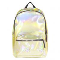 Рюкзак маленький Hologram Yellow