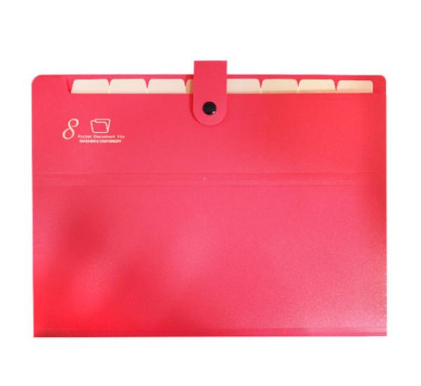 Папка с разделителем 8  OS-8899