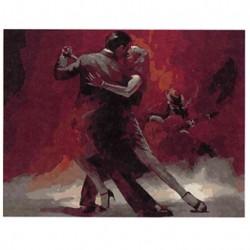 Картина по номерам 40х50 Аргентинское танго GX8576..