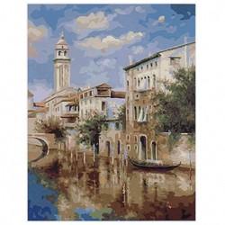 Картина по номерам 40х50 Венецианский канал GX8202..