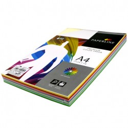 Бумага 10 цв 250 л (Paperline)