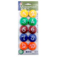 Набор магнитов для доски с цифрами 30 мм 3010